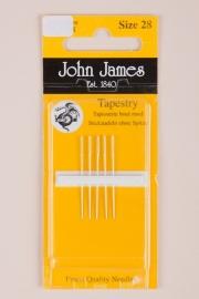 John James Tapestry. 5 naalden size 28