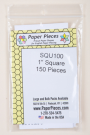 "Paper Pieces - SQU100 1"" Square 150 Pieces"
