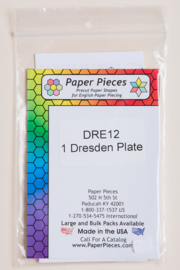 Paper Pieces - DRE12 1 Dresden Plate