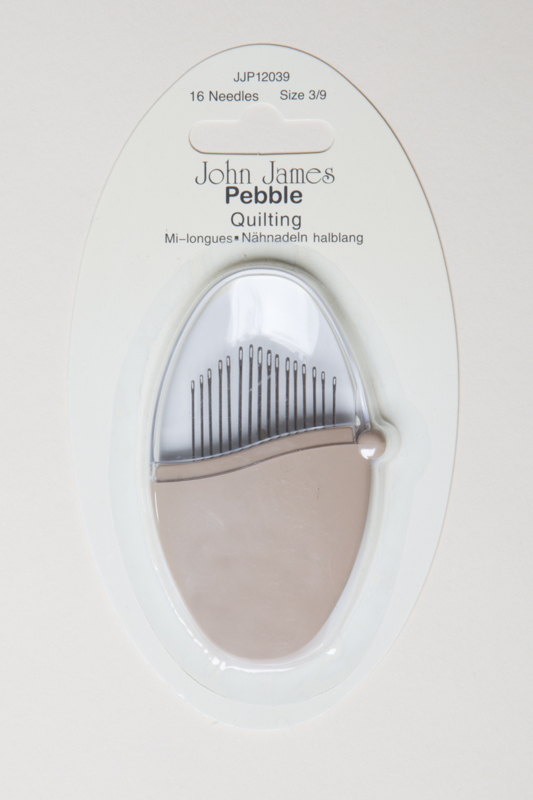 John James Pebble Quilting 16 naalden size 3/9
