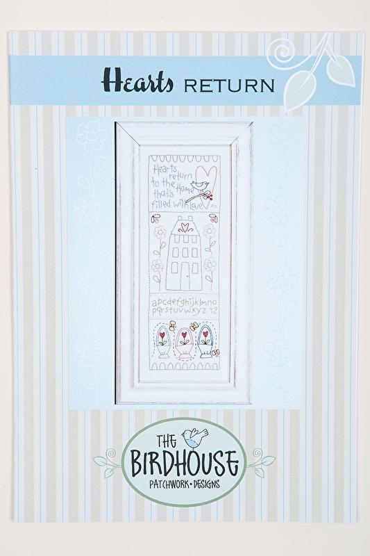 The Birdhouse Patchwork designs - Hearts return