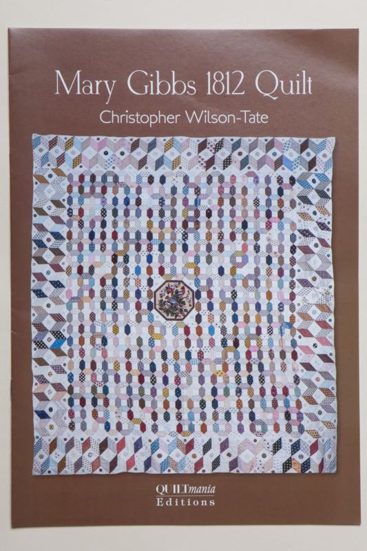 Christopher Wilson Tate - Mary Gibbs 1812 Quilt