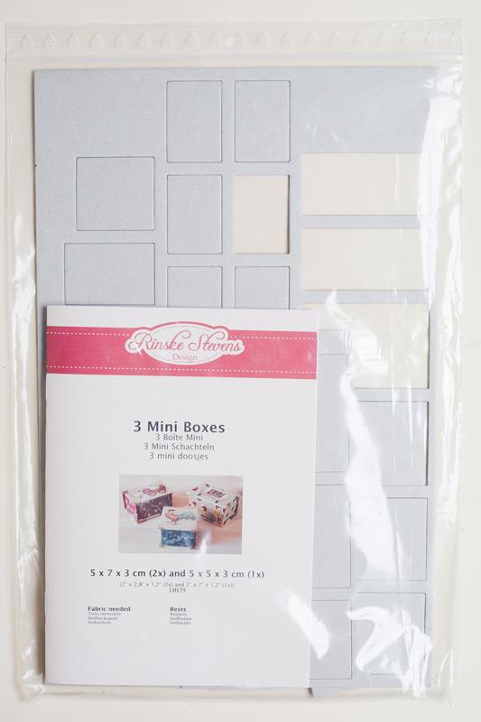 Rinske Stevens design - 3 Mini Boxes