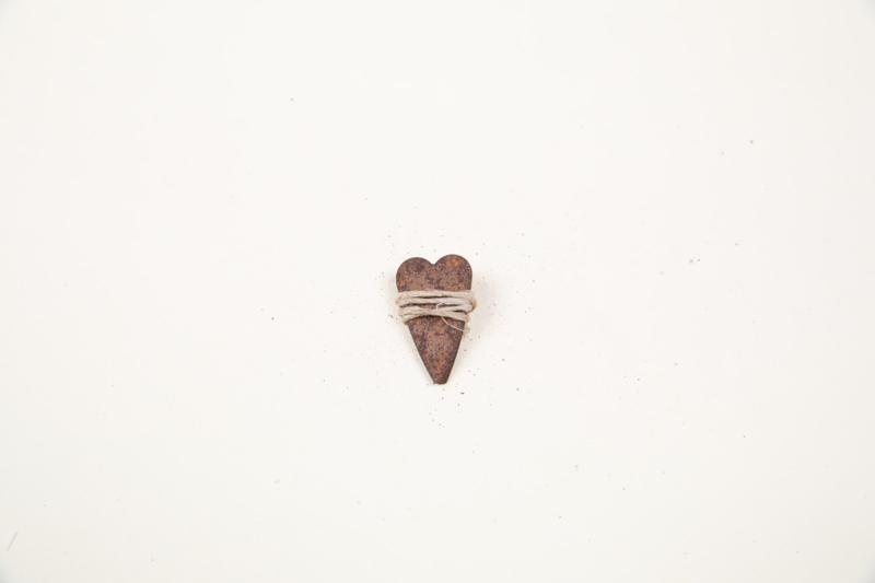"1"" Heart 5 stuks"