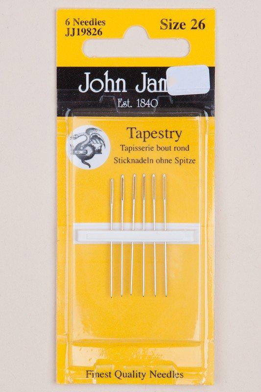 John James Tapestry. 6 naalden size 26