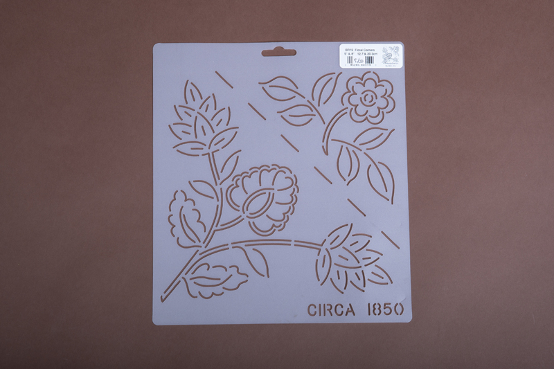 "Br19 5"" & 8"" Floral Corners"