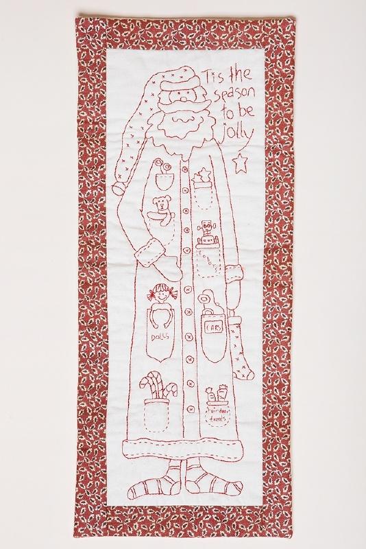 The Birdhouse Patchwork designs - Jolly Santa