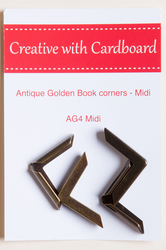 Rinske Stevens design - Antique Golden Book Corners midi