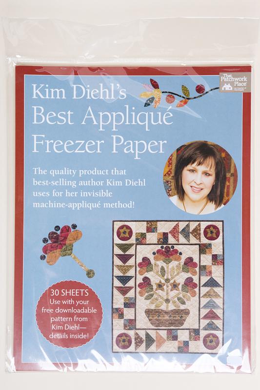 That Patchwork Place - Kim Diehl's Best Appliqué Freezer Paper
