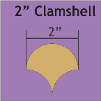 """Paper Pieces - CLAM200 2"""" Clamshell Small Pack 68 Pieces"""