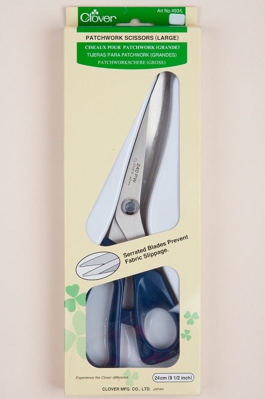 Clover Patchwork Scissors large