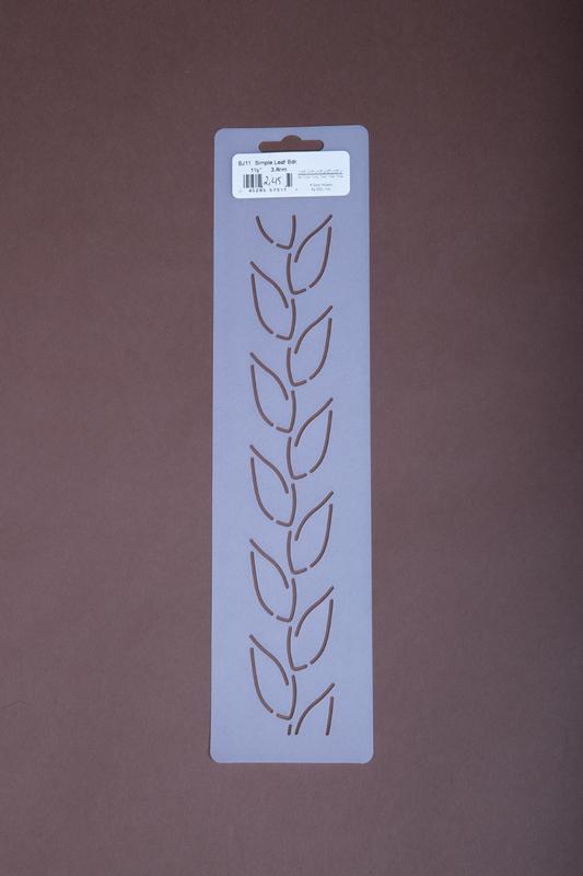 """BJ11 1,5"""" Simple Leaf"""