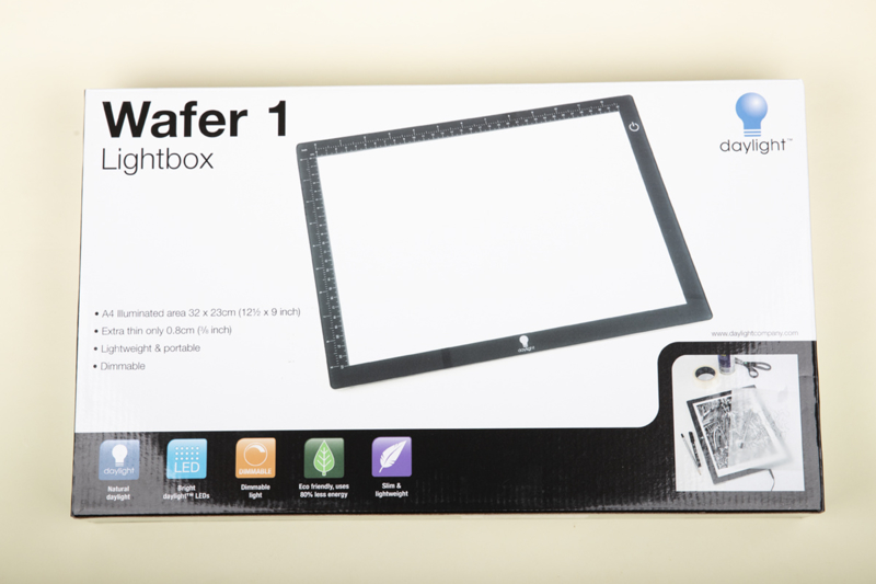 Wafer 1 Lightbox, 32 x 23 cm - lichtbak