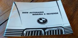 Bavaria C reverse Original BMW Autoradio Betriebsanleitung manual gebruiksaanwijzing