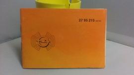 Opel radio AN 783 incl Gebruiksaanwijzing geleverd door Nefkens Amersfoort