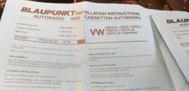 inbouwsetje voor Kever 1303 LS cabriolet