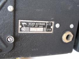 Becker Solitude AR 5165 voor Mercedes 170