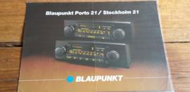Blaupunkt 1981 leaflet Porto 21 / Stockholm 21