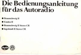 VW / Audi radio`s 1983 gebruiksaanwijzing