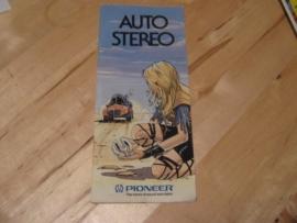 """Ω PIONEER ® folder """"Auto-Stereo 7/86"""""""