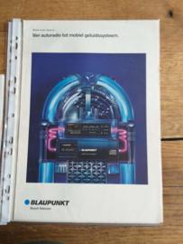 Blaupunkt 1990 Van Autoradio tot mobiel geluidsysteem