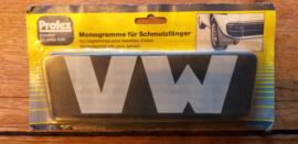 "2 monogramme fur schmutzfanger ""VW"""