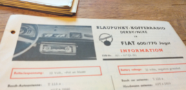 einbauanleitung / installation instructions Fiat 600 / 770 Jagst