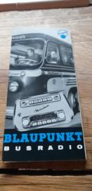 Blaupunkt 1961 folder / prospekt Busradio Kassel /München