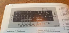 Bavaria C Business Original BMW Autoradio Betriebsanleitung manual gebruiksaanwijzing