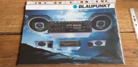 Blaupunkt 1984 folder Autoradio + prijslijst