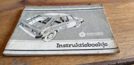Instruktieboekje Chrysler