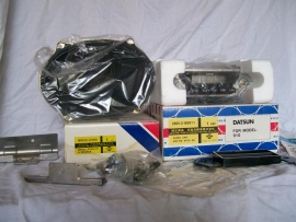 Original Datsun Bluebird 1979 radio + installation kit