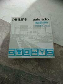 Philips AN 583 oldtimer autoradio nieuw in doos
