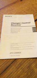 Sony XTC-C200RDS gebruiksaanwijzing manual betriebsanleitung