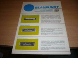 Blaupunkt 1969 autoradio folder