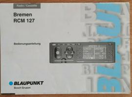 Bremen RCM 127 Vintage 90er Bedienungsanleitung Blaupunkt