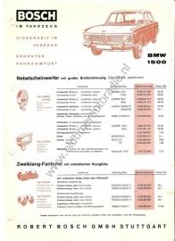 BMW 1500 Bosch im fahrzeug