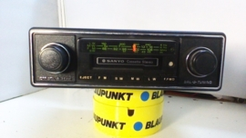 nos Sanyo stereo radio / cassetter en ipod aansluiting