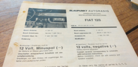 einbauanleitung / installation instructions Fiat 128 3.70