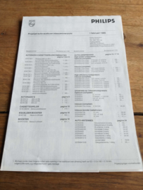 Philips 1985 prijslijst