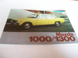 Autofolder Mazda 1000/1300
