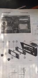inbouw instructies autoradio oor BMW 3 serie o.a. 320 / 323i