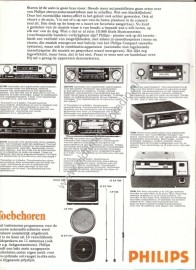 Philips autoradio folder/poster