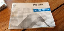 AN 322 324 gebruiksaanwijzing manual Philips  autoradio