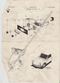 Radio inbouw Porsche 911 1969