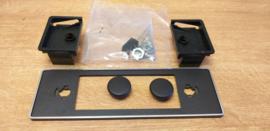 nieuw in verpakking VAG Audi / VW frontje + bevestigings materiaal
