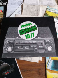 Philips 1977 autoradio folder