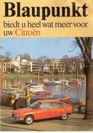 Blaupunkt 1975 Folder Citroën