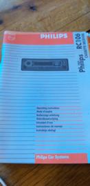 RC 106 gebruiksaanwijzing manual Philips  autoradio
