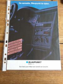 Blaupunkt 1989 folder